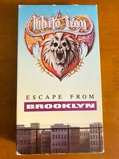 White Lion - Escape From Brooklyn Rare VHS Hair Metal - FREE SHIPPING