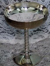 SILVER PLATED CHAMPAGNE SHERBET CHALICE FB ROGERS GOBLET YUGOSLAVIA  Vintage