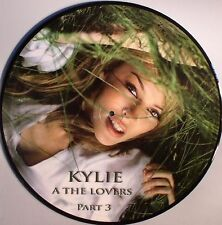 "Kylie Minogue PROMO-ONLY All The Lovers 3 Picture Disc Single 12"" Vinyl LP New"