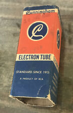 Vintage Cunningham Electron Tube 105 GT/G IN BOX