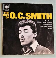 O C Smith - The Hits of O C Smith Rare Aussie only EP