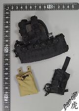 A210 1:6 Scale ace Military action figure parts - Black S.O Tech Hellcat w/pouch