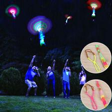 Colorful Creative LED Light Flash Slingshot Rocket Slingshot Children Toy