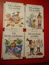 Lot 4 albums Lili et Max