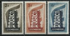 Luxembourg Europa stamps mint o.g. hinged
