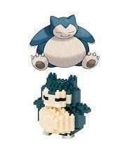 Pokemon Snorlax Kabigon Building 221pcs Blocks 3D DIY Brick Toys