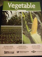 2016 To 2017 Vegetable Production Handbook Of Florida Farm Book