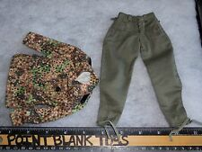 DID PEA DOT TUNIC & PANTS WWII GERMAN MEDIC PETER 1/6 ACTION FIGURE TOYS