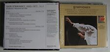 IGOR STRAVINSKY EDITION (BOX 2CD) VOL IV  SYMPHONIES REHEARSALS AND TALKS