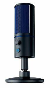 Razer Seiren X PS4 - Condenser Streaming Microphone - Built-in Shock Absorption.
