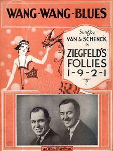 1921 Wang-Wang Blues by Wood,Mueller,Johnson and Busse-Ziegfeld Follies 1921