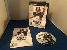 PLAYSTATION 2 PS2 ARENA FOOTBALL EA SPORTS COMPLETE RATED E10+