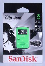 SanDisk Clip Jam Green (8 GB) Digital Media Player
