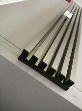 Rejilla ventilacion para hornos y frigorificos de 60 cm en plata mate aluminio