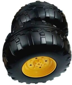 Peg Perego John Deere Ground Force Tractor Replacement Rear Right Wheel / Tyre