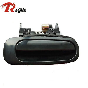 Fit Toyota Corolla Exterior Outside Rear Right Smooth Black Door Handle 98-02