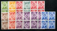 Switzerland Stamps Essays XF OG NH 10 Values Blocks