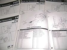 1995 Arctic Cat Snowmobile Illustrated Parts Manuals - Select Model from List