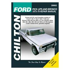 Service & Repair Manuals for Ford F-100 for sale | eBay on