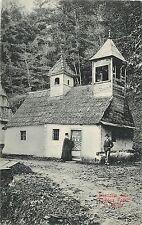 Romania Tranylvania Sibiu Bisericuta de la Fantana Foltei Saliste monk 1909 PC