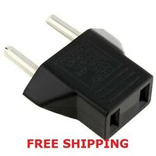 4 PC FREE SHIPPING! USA to EUROPE travel adapter. US to EU adapter / converter