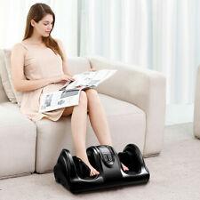 Shiatsu Foot Massager Kneading & Rolling Leg Ankle w/Remote Home Commerce Black