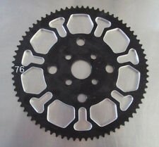 GoPed Pocket Bike Performance Parts GSR Sprocket Gear Skeletor 76 Tooth
