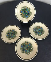"Lenox Temperware ""Fall Bounty"" Bread and Butter/Dessert Plates - Set of 4 6.5"""