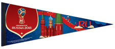 FIFA World Cup Russia 2018 Official Event Premium Felt Collector's PENNANT