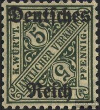 alemán Imperio d57 nuevo con goma original 1920 sello de franqueo oficial