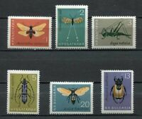 33462) Bulgaria 1964 MNH Insects 6v Scott #1332/37