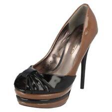 Scarpe da donna neri Spot On con tacco altissimo (oltre 11 cm)