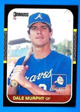 1987 Donruss Box Bottom DALE MURPHY (ex) Atlanta Braves