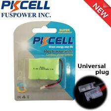 Universal plug 2/3AA NiMH Phone Home Battery For Vtech CPH-403D 80-5074-02-00 CA