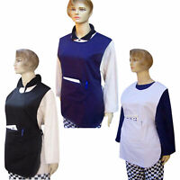 Ladies Chef Kitchen Tabards / Aprons Hospitality Grade 3 Colors