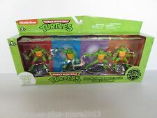 Teenage Mutant Ninja Turtles Clip & Go Collectible Figurines (2014) Brand New