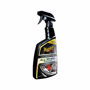 Meguiar's G180124EU Ultimate All Wheel Cleaner, Pulitore Ruote, 744 ml
