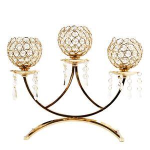 Allgala 3-Arm Bowls Tea-light Candelabra Candle Holder