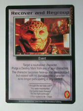 1998 Babylon 5 Ccg - The Shadows - Rare Card - Recover And Regroup