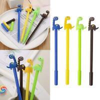 0.5mm Cute Dinosaurs Ballpoint Gel Pens Stationery School Office Supplies
