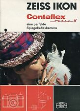 Catalogo/opuscolo Zeiss Ikon Contaflex Super B