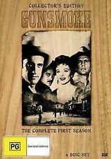 GUNSMOKE - SEASON 1 (WOOD PACK) 6DVD SET!!! BRAND NEW!!! SEALED!!!