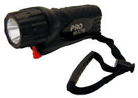 Promate Phantom 5W Underwater Scuba Dive LED Light Torch Gear - Black
