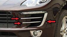 Porsche Macan ab 2014 Tagfahrlicht Zierleisten 6 tlg Abs Chrom