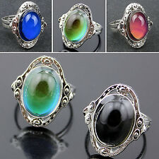 1pcs Mood Ring Adjustable Changing Color Temperature Control Jewelry Women Best