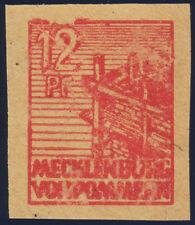 SBZ, MiNr. 36 y f G U, ungezähnt, Gummidruck, postfrisch, gepr. Kramp, Mi. 750,-