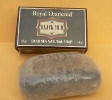 DEAD SEA SOAP Bar BLACK MUD, Natural Salts Minerals Rich Face&Body Healthy Skin