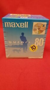 [NEW] Maxell Burari 80-minute Minidisc - 10-Pack