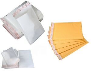 GOLD WHITE MAIL LITE SIZE QUALITY PADDED BUBBLE MAIL ENVELOPE POSTAL BAGS CS