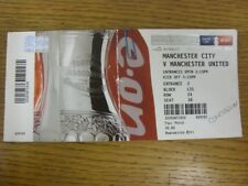 16/04/2011 Ticket: FA Cup Semi-Final: Manchester City v Manchester United [At We